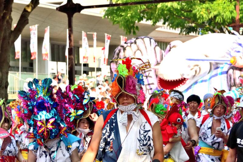 東北絆まつり2021年山形で開催!東北6県の祭りの内容は?