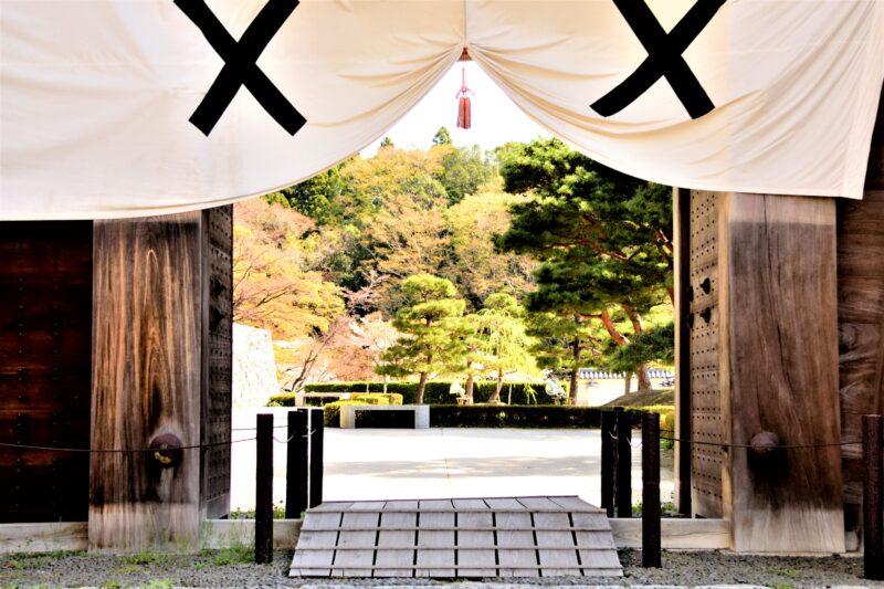 二本松城の門
