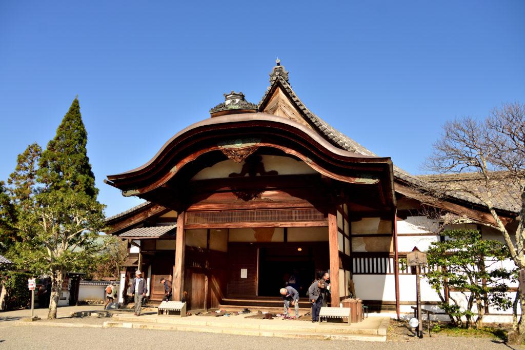 醍醐寺の本堂