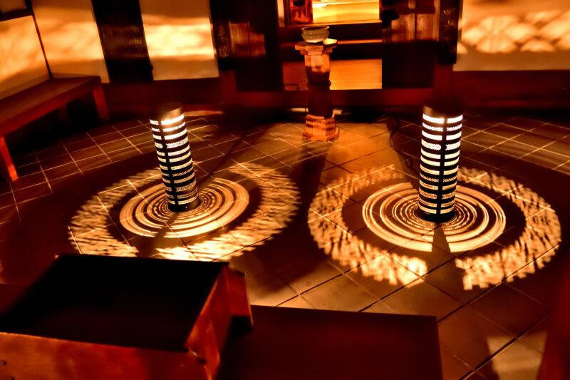 博多旧市街ライトアップウォークの妙楽寺