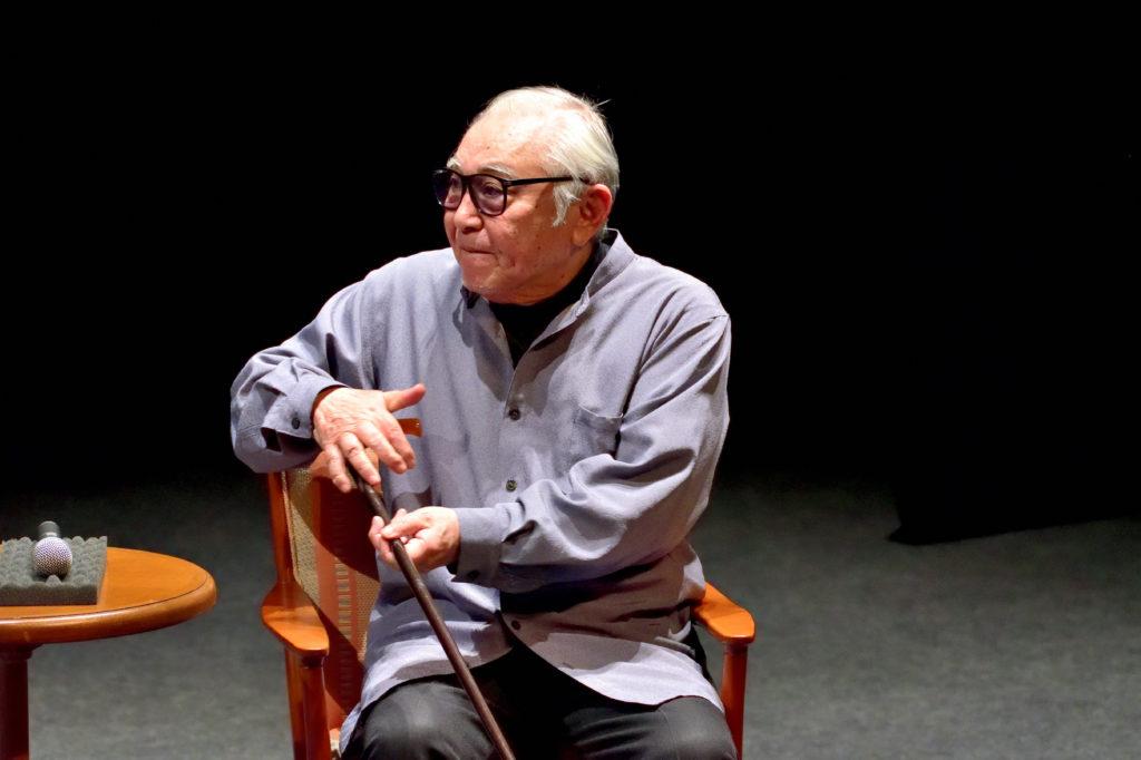 富良野演劇工場の倉本聰さんのトークセッション