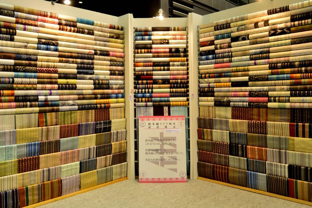 KOUGEI EXPO 福岡の伝統工芸品の博多織