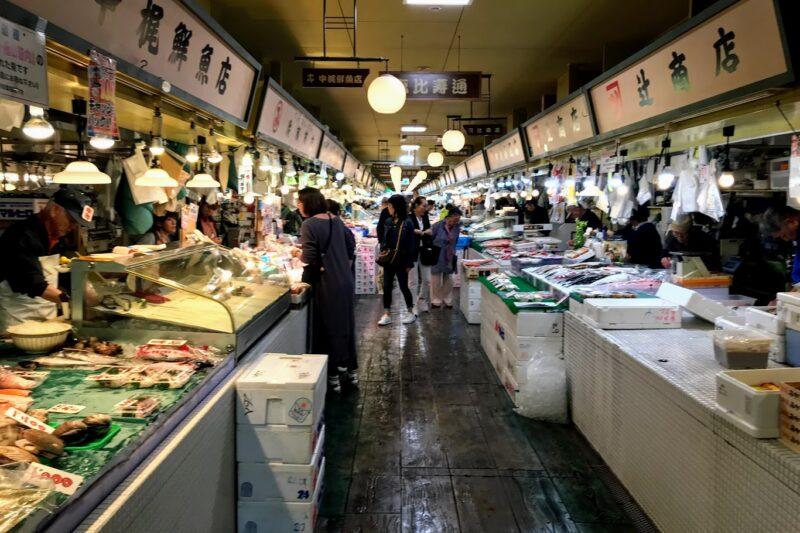 函館の自由市場