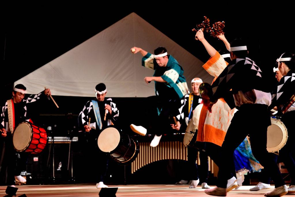 鼓童主催の佐渡のアースセレブレーションの公演.