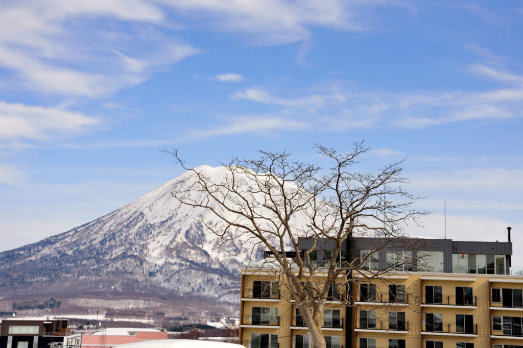 Mt.Yotei and Niseko lodges