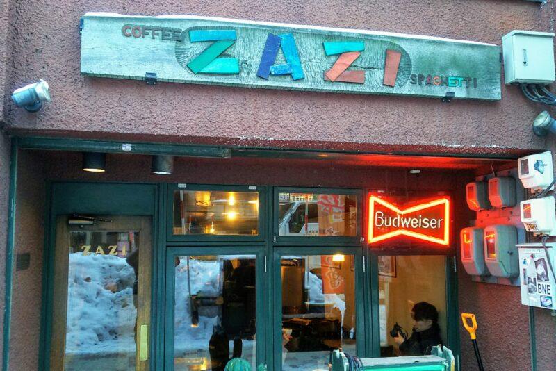 札幌の老舗カフェZAZI