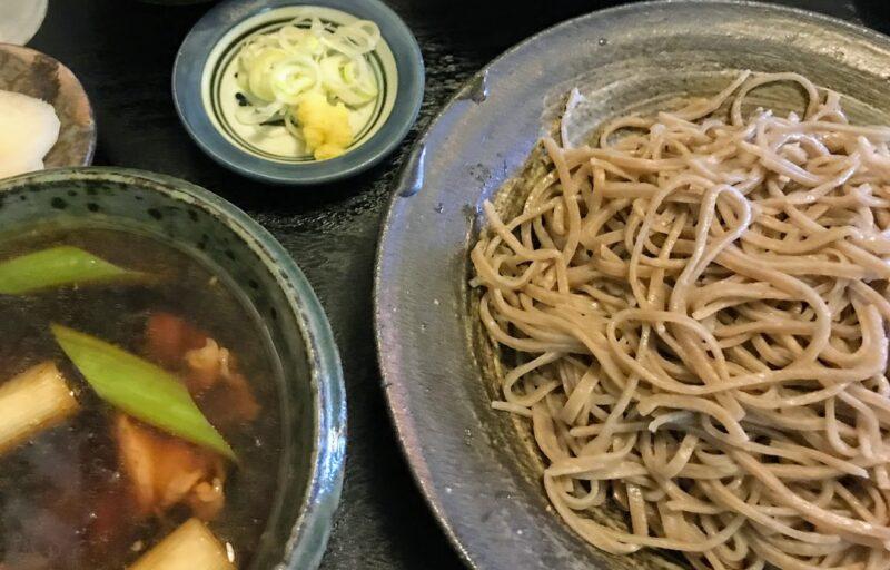 【利めい庵】の蕎麦を藻岩山(札幌南区)の麓で!週末のみ古民家に地鶏せいろの香り?