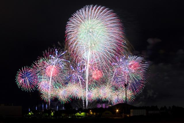 北海道の花火