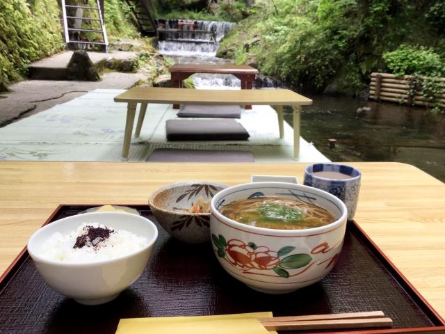 京都(貴船)の川床