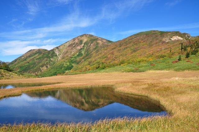 火打山の紅葉の2021年見頃時期はいつ?天狗の庭・高谷池のアクセスやテント泊は?